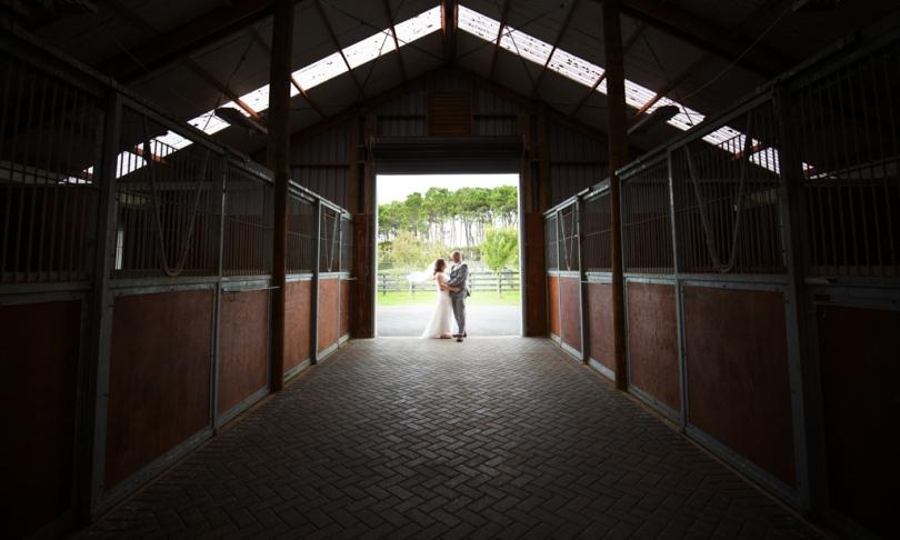 auckland wedding at a barn