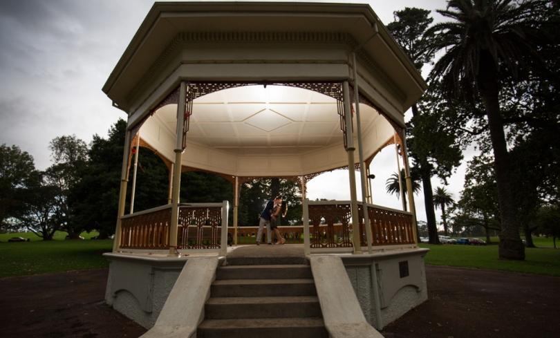 auckland wedding rotunda